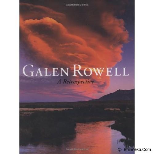 BHINNEKA BOOKS Galen Rowell: A Retrospective - Fine Art Photography Book
