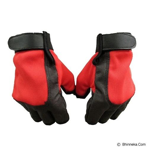 BIKERS Sarung Tangan Half Finger - Merah - Sarung Tangan Motor