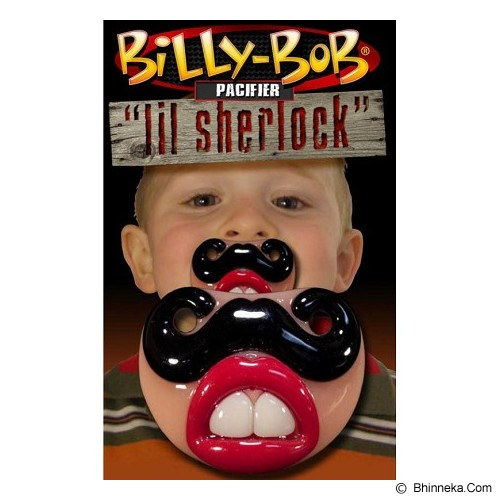 BILLY BOB Pacifier Lil Sherlock [nurs-pcfr14] - Dot Bayi / Pacifier & Teethers