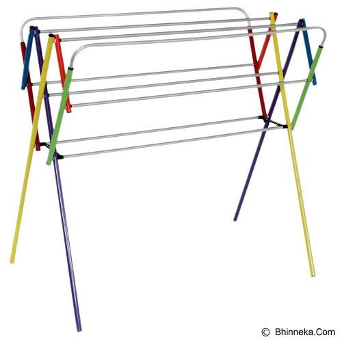 BINA KARYA Jemuran Baju Aluminium Mini 100 cm - Rainbow - Jemuran