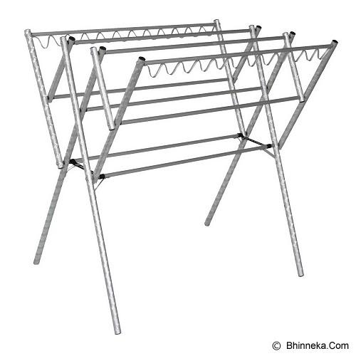 BINA KARYA Jemuran Baju Aluminium 110 cm - Jemuran