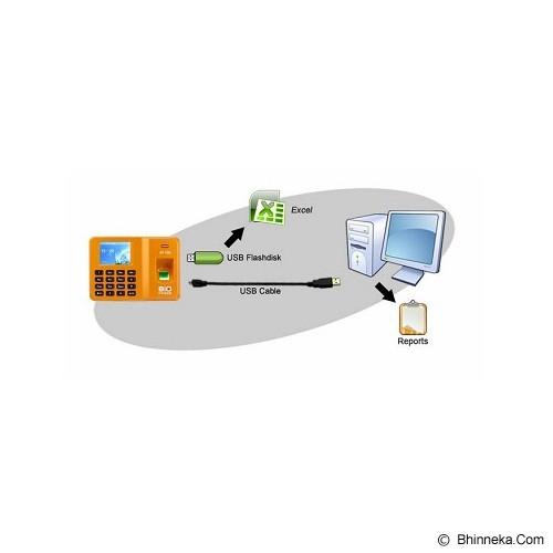 BIO-FINGER Mesin Absensi [AT-100] - Orange - Mesin Absensi Digital Standalone