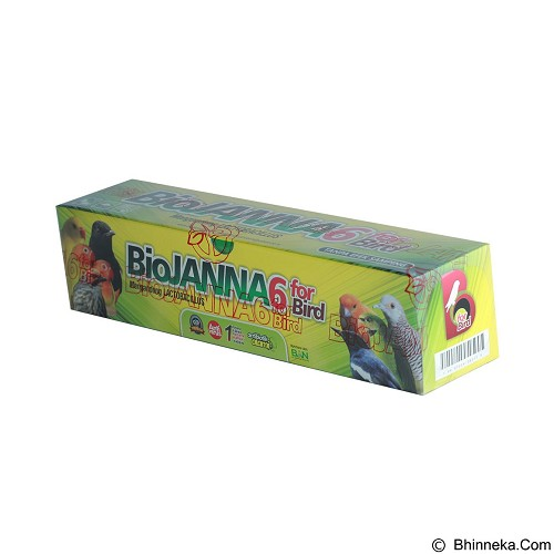 BIO JANNA 6 For Bird [BJ6TTS15ML] - Suplemen, Vitamin & Obat Unggas