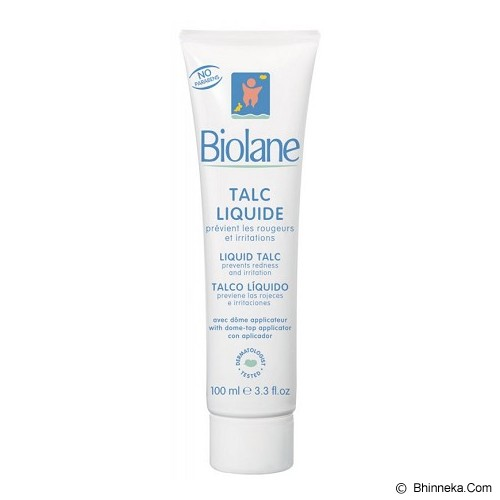 BIOLANE Liquid Talc 100ml [BTLEXP] - Baby Lotion / Cream