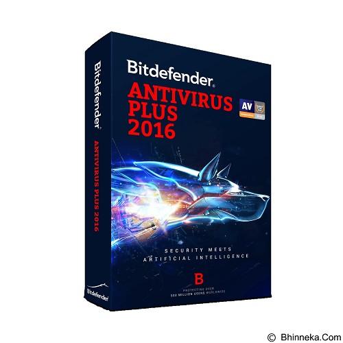 BITDEFENDER Antivirus Plus 2016 1 years 1 pc (Merchant) - Client Software Antivirus Fpp