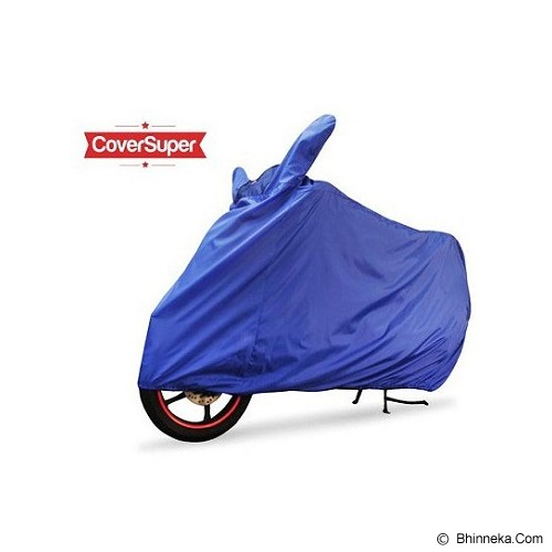 BJ MOTOR Cover Super Motor Warna - Biru Tua - Cover Motor