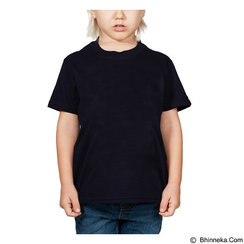 BKP Kaos Polos Anak Size S - Navy - Baju Bepergian/Pesta Bayi dan Anak