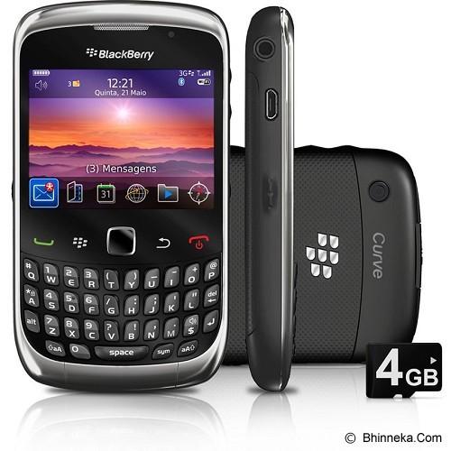 BLACKBERRY 9300 Curve - Black - Smart Phone Blackberry