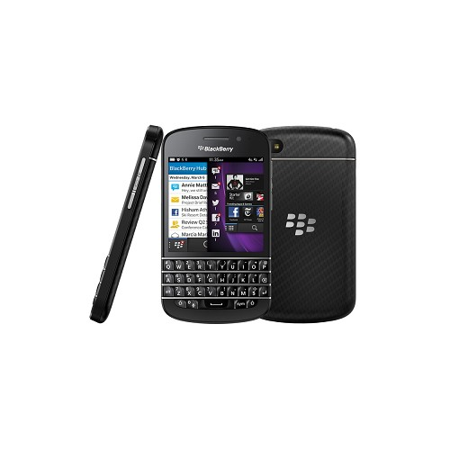 BLACKBERRY Q10 (Garansi Resmi) - Black - Smart Phone Blackberry