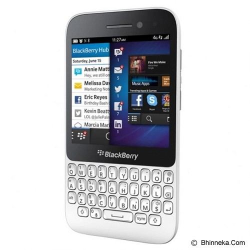 BLACKBERRY Q5 - White - Smart Phone Blackberry