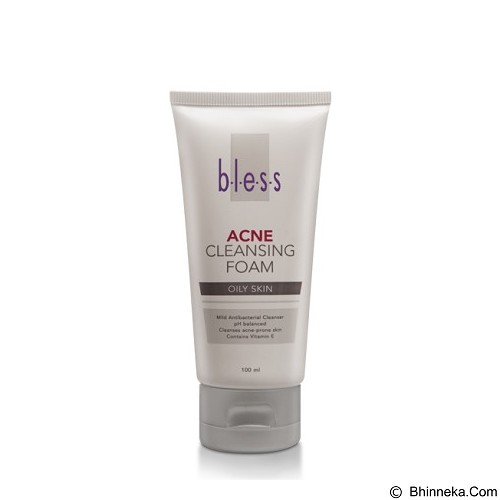 BLESS Acne Cleansing Foam [Merchant] - Sabun Wajah