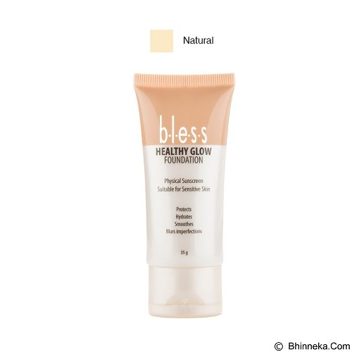BLESS Healthy Glow Foundation - Natural [Merchant] - Face Foundation