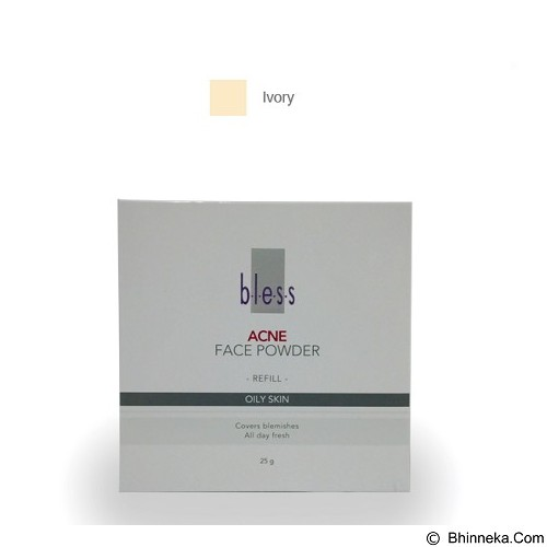 BLESS Refill Acne Face Powder - Ivory [Merchant] - Face Foundation