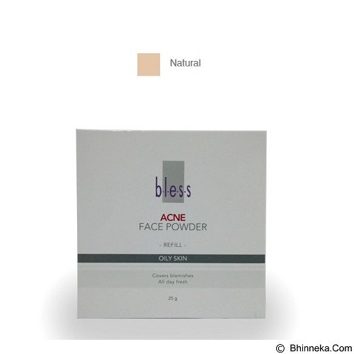 BLESS Refill Acne Face Powder - Natural [Merchant] - Face Foundation