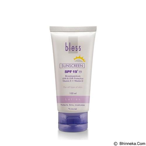 BLESS Sunscreen Lotion SPF 19 [Merchant] - Tabir Surya / Body Sunblock