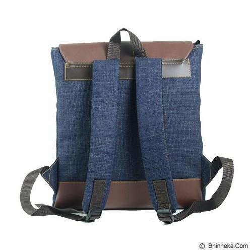 BLEUGENES Tas Denim Forest - Notebook Backpack