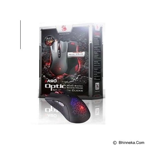 BLOODY Optic Micro Switch Gaming Mouse [A90] (Merchant) - Gaming Mouse