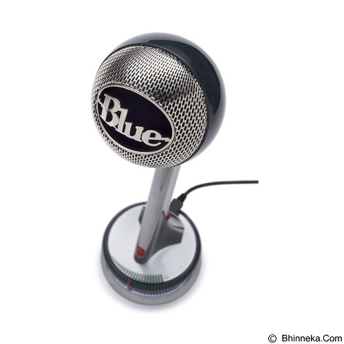 BLUE Nessie Adaptive USB Microphone - Silver (Merchant) - Gadget Activity Device