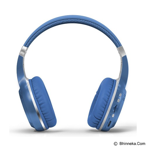 BLUEDIO Headphone H+ Turbine Hurricane - Blue - Headset Bluetooth