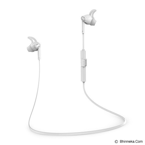 BLUEDIO Headset Bluetooth M3 - White - Headset Bluetooth