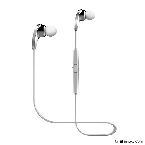 BLUEDIO Headset Bluetooth N1 - White - Headset Bluetooth