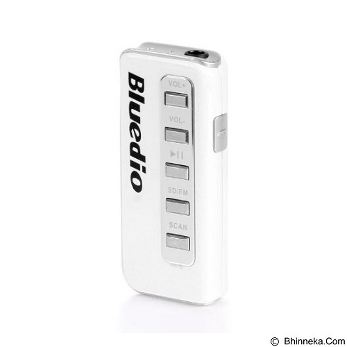 BLUEDIO Original Bluedio Bluetooth Earphone I5 - White - Headset Bluetooth