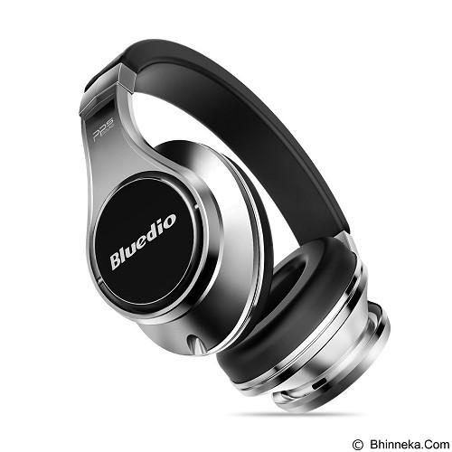 BLUEDIO Premium Headphone - Silver Black (Merchant) - Headphone Portable