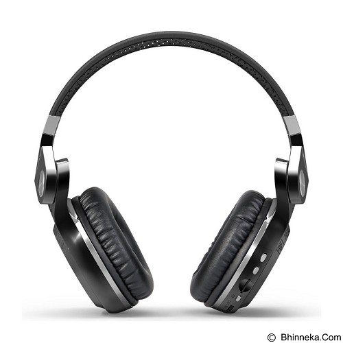 BLUEDIO T2+ Turbine - Black (Merchant) - Headset Bluetooth
