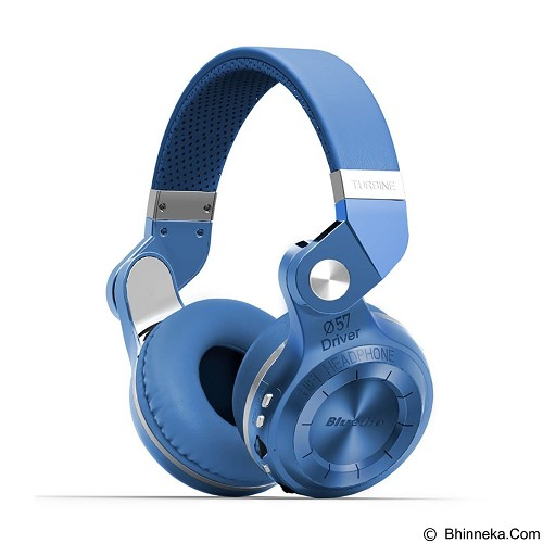 BLUEDIO T2+ Turbine Hurricane - Blue (Merchant) - Headset Bluetooth