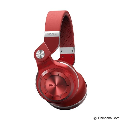 BLUEDIO T2+ Turbine Hurricane - Red (Merchant) - Headset Bluetooth