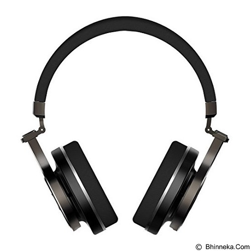BLUEDIO T3+ - Black (Merchant) - Headphone Portable