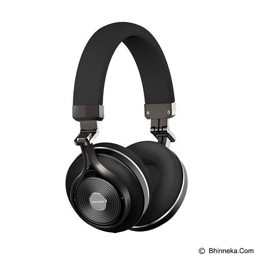 BLUEDIO T3+ - Black (Merchant) - Headphone Portable
