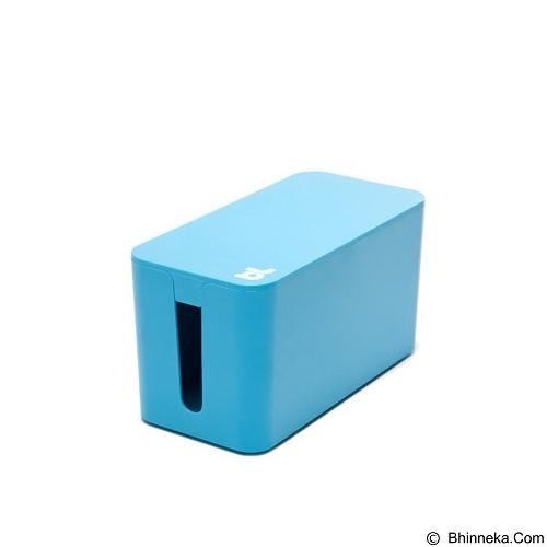 BLUELOUNGE Cablebox Mini [CBM-BLU-705105460536] - Blue (Merchant) - Gadget Cable Holder