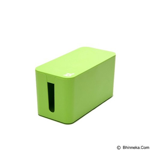BLUELOUNGE Cablebox Mini Penyimpan Stop Kontak dan Kabel [CBM-GRN-705105460635] - Green (Merchant) - Gadget Cable Holder