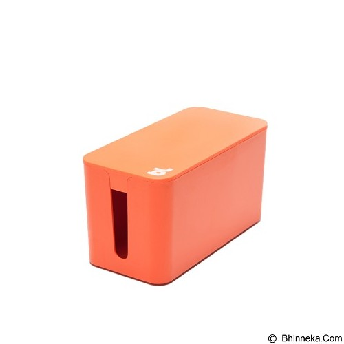 BLUELOUNGE Cablebox Mini Penyimpan Stop Kontak dan Kabel [CBM-ORG-705105460734] - Orange (Merchant) - Gadget Cable Holder