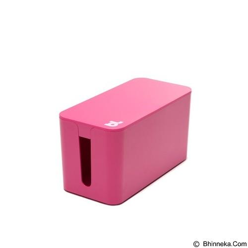 BLUELOUNGE Cablebox Mini Penyimpan Stop Kontak dan Kabel [CBM-PNK-705105460833] - Pink (Merchant) - Gadget Cable Holder