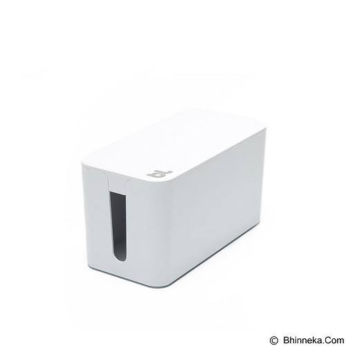 BLUELOUNGE Cablebox Mini [CBM-WH-705105460932] - White (Merchant) - Gadget Cable Holder