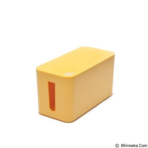 BLUELOUNGE Cablebox Mini Kotak Mini Penyimpan Stop Kontak dan Kabel [CBM-YLO-705105461038] - Yellow (Merchant) - Gadget Cable Holder