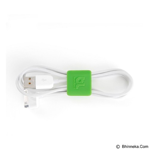 BLUELOUNGE Klip Kabel Multi Fungsi Size Small (3 Dark Grey, 3 Green) [CC-SM-705105462332]  (Merchant) - Gadget Cable Holder