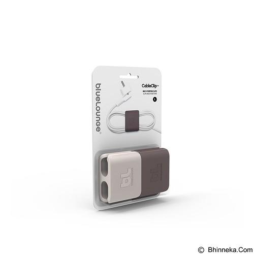 BLUELOUNGE Klip Kabel Multi Fungsi (Dark Grey & Light Grey) [WJC15436]  (Merchant) - Gadget Cable Holder