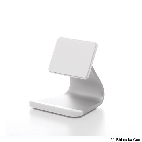 BLUELOUNGE Milo Aluminium Stand Smartphone dengan Micro-Suction [MO-AL-WH-736211530578] - White (Merchant) - Gadget Docking