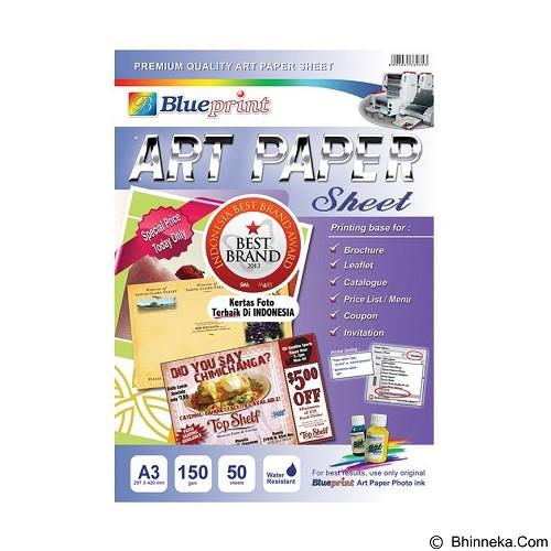 BLUEPRINT Art Paper Sheet 150 gsm A3 (Merchant) - Kertas HVS A4