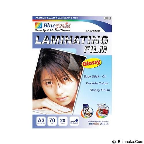 BLUEPRINT Laminating Glossy Film A4 [BP-GFA455] (Merchant) - Kertas Foto / Photo Paper