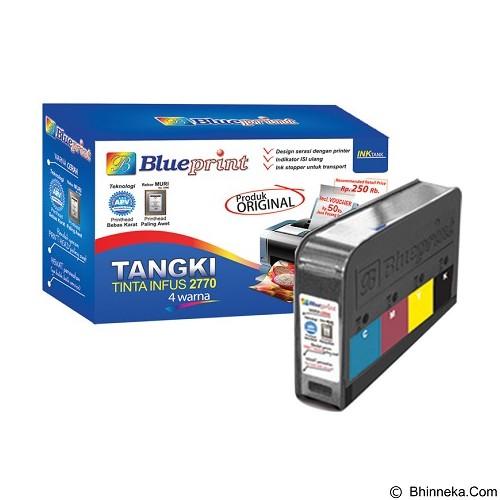 BLUEPRINT Tangki Tinta Infus 2770 4 Warna (Merchant) - Tinta Printer Canon