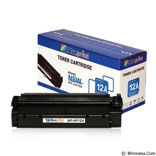 BLUEPRINT Toner Cartridge HP Laserjet [BP-HP12A] - Black (Merchant) - Tinta Printer Refill