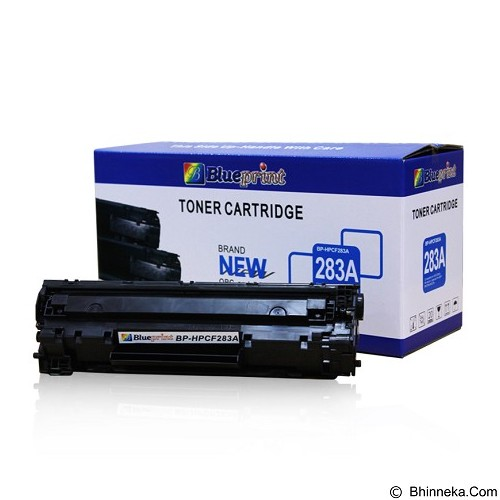 BLUEPRINT Toner Cartridge HP Laserjet [BP-HP283A] - Black (Merchant) - Tinta Printer Refill