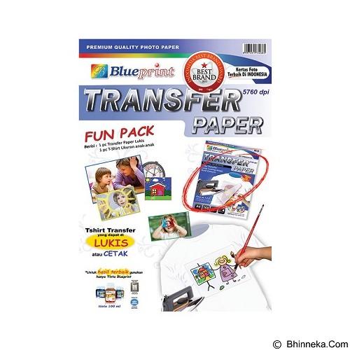 BLUEPRINT Transfer Paper Fun Pack A (Merchant) - Kertas Foto Copy / Multi Purpose Paper