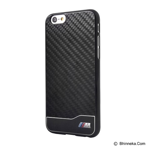 BMW Carbon Alumunium Case for Apple iPhone 6 - Black (Merchant) - Casing Handphone / Case