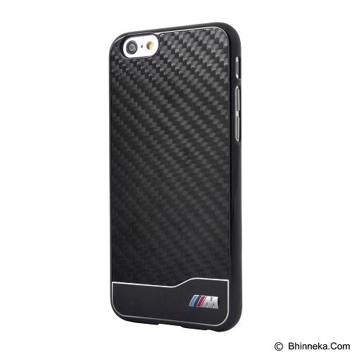 BMW Carbon Alumunium Case for Apple iPhone 6 - Black (Merchant) - Casing Handphone / Case