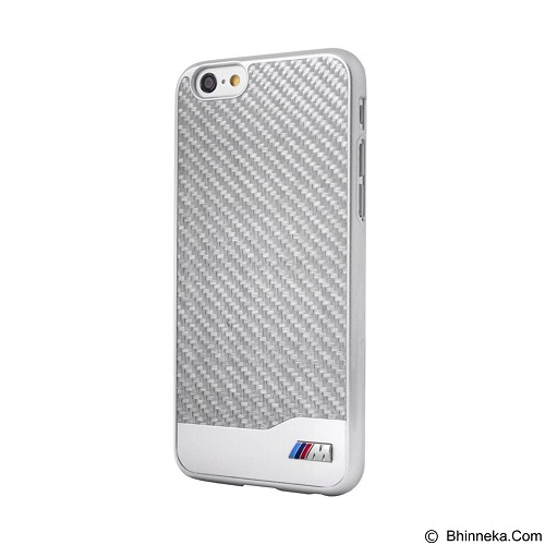 BMW Carbon Alumunium Case for Apple iPhone 6 - Silver (Merchant) - Casing Handphone / Case